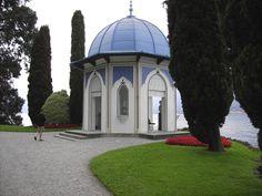 Pavilion at Villa D'este in Lake Como District