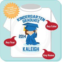 Kindergarten Graduate Shirt Kindergarten por ThingsVerySpecial