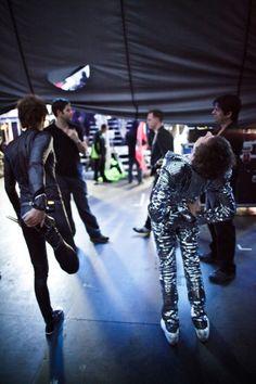 muse backstage