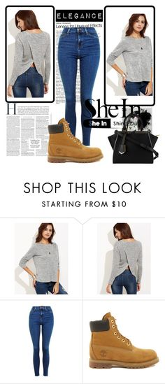 """""""Shein #5"""" by abbybo on Polyvore featuring Topshop, Timberland and Fendi"""