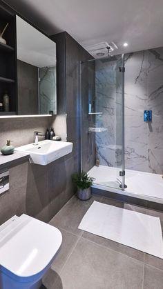 best master bathroom shower remodel ideas to try 33 ~ mantulgan.me : best master bathroom shower remodel ideas to try 33 ~ mantulgan. Small Bathroom Renovations, Modern Bathroom Design, Bathroom Interior Design, Basement Renovations, Minimalist Bathroom Design, Kitchen Interior, Bad Inspiration, Bathroom Inspiration, Bathroom Ideas