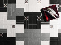 LE CRETE HEXAGON TERRA NERA - designer Floor tiles from Valmori Ceramica Design ✓ all information ✓ high-resolution images ✓ CADs ✓ catalogues ✓..