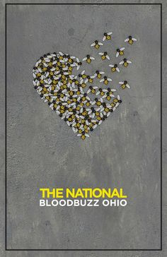 """Song poster I designed for the track, """"Bloodbuzz Ohio"""" by The National. The concept was inspired by the lyrics in the song."""
