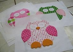 These might come in handy when coming up with the templates for the owls.  Similar to the shape I sketched but simplified--which would definitely make cutting and stitching easier.