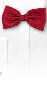 Bows N Ties Style JA46 Bow Tie in Cherry