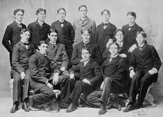 Frat boys, Chicago, 1894