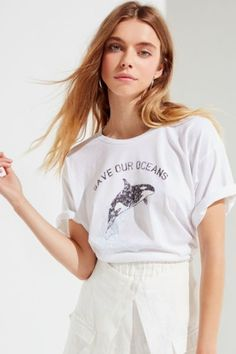 eb1664f76 Future State Save The Whales Tee | Urban Outfitters Save Our Oceans,  Weather Wear,