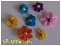 fiori pannolenci