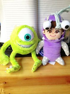 """Monsters Inc Mike Boo Plush Toy 9"""" Stuffed Good Quality New $35 free shipping worldwide"""