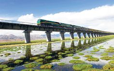 Tibet has reopened after a month's closure to tourists. Fionnuala McHugh   reports on a railway journey of more than  4,000 miles that is now possible   again – all the way from Hong Kong to Lhasa.
