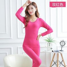 b0d29bc4ad0e Women Tunic Winter Thermal Underwears Seamless Breathable Warm Long Johns  Ladies 2016 New