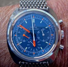 Vintage OMEGA Seamaster Chronograph In Stainless Steel Calibre 861