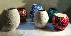 Como fazer vasos de artesanato com jornal