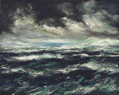 Maurice de Vlaminck(French  1876ー19589「Marine」