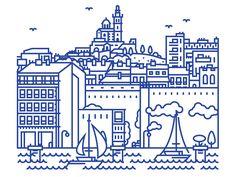 City animation