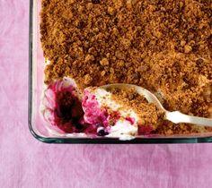 Quark-Beeren-Dessert - [ESSEN UND TRINKEN]