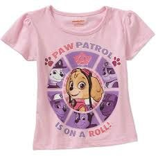 Image result for paw patrol girls tees