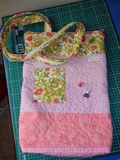 DeCoração Patchwork: Bolsa de tricoteira