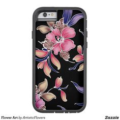 Flower Art Tough Xtreme iPhone 6 Case