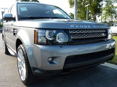 2013 Land Rover Range Rover Sport Orkney Gray #LandRoverPalmBeach #LandRover #RangeRover http://www.landroverpalmbeach.com/