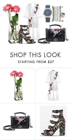 """""""sensual"""" by andzelika-niklewicz on Polyvore featuring Paşabahçe, House of Holland, Topshop and Mixit"""