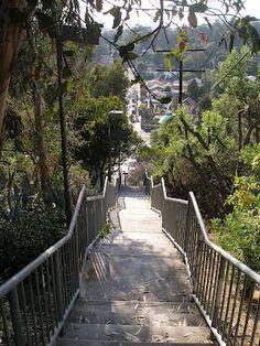 Echo Park stairways, Avalon East
