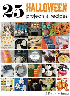 25 Halloween projects & recipes