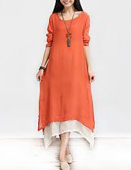 Kuvahaun tulos haulle linen dress asymmetrical