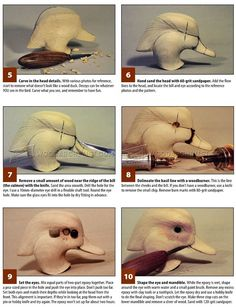 Duck Carving - Wood Carving