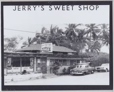 Classic Jerry's Sweet Shop Restaurant Haleiwa Town Oahu on Mat Hawaiian Goddess, Wish I Was There, Hawaiian Islands, Oahu Hawaii, Boat Plans, Us Images, Beautiful Islands, Past, Classic