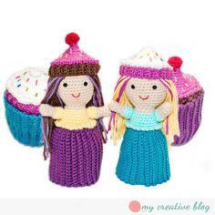Cupcake Doll Crochet Pattern on Ravelry
