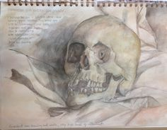 Laura, pencil and watercolour study to help prepare for the A level External Assignment. At Marys Catholic High School