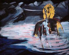 Bernd Zimmer (German, b. 1948), Schwimmendes Licht I [Floating...