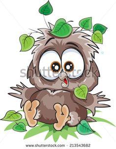 Cartoon Owls Illustration Photos et images de stock   Shutterstock