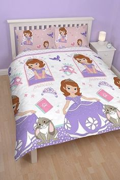 Sofia The First Academy Disney Double Size Reversible Doona Cover Set