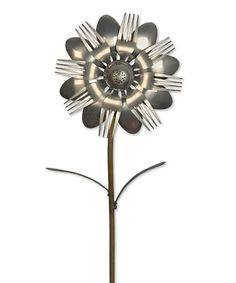 I think I need to learn to tack weld!! Look what I found on #zulily! Azalea Upcycled Garden Stake #zulilyfinds