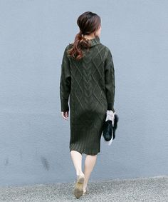AMERI,MIX CABLE KNIT OP Find looks using this item.