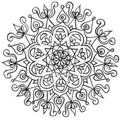 Eye Pop Art: Free mandala coloring pages