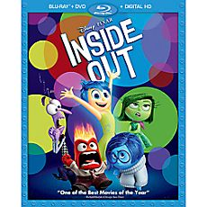 Disney•Pixar Inside Out Blu-ray Pack with FREE Lithograph Set - Pre-Order