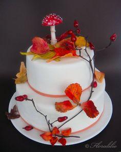 Herbst-Torte von Floralilie - Autumn Cake by Florralilie