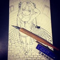 Drawing using g-pen