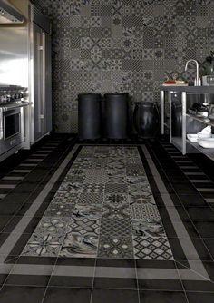 Producto: pavimento 1900, escenario: baños