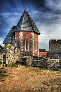 Medvedgrad - A medieval fortified town located on the Medvednica Mountain, Croatia r #croatia #hrvatska