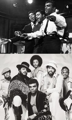 The Isley Brothers...still my favorite male group even though Ron is doing it solo