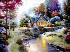 Thomas Kinkade Painting 174.jpg