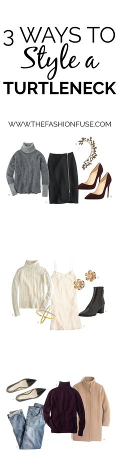 3 Ways to Style a Turtleneck | turtleneck style ideas | how to wear a turtleneck | turtleneck fashion tips | turtleneck style ideas | fall style | fall fashion | high end fashion for less | cool weather style tips | fashion tips for fall | style ideas for fall || The Fashion Fuse #turtleneck #fallfashion #fallstyle #highendfashion