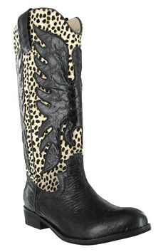 Mia Topeka Boot In Dalmatian - Beyond the Rack  $84.99      Cinderella is proof that a new pair of shoes can change your life.      Color: Dalmatian     Composition: Upper: 100% Pony Hair, Sole: 100% Rubber     Origin: China