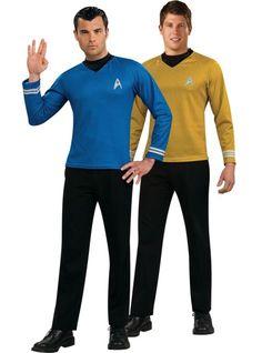 Star Trek Kirk and Spock Couple Costumes