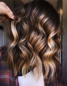 Brown Hair Balayage, Balayage Brunette, Hair Color Balayage, Brunette Hair Cuts, Hair Color And Cut, Hair Color Shades, Hair Colors, Beautiful Hair Color, Hair Color Highlights