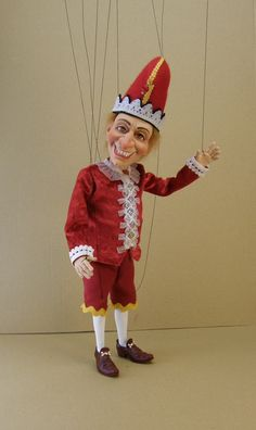 *MAGICSCULP & POLYMER CLAY ~ PUNCH marionette.